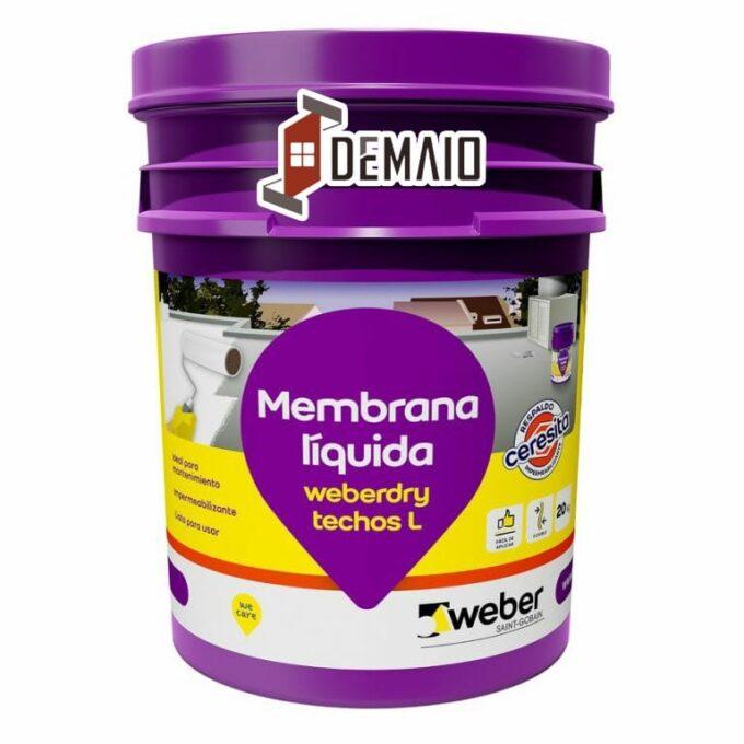 Membrana liquida 10 litros Weber